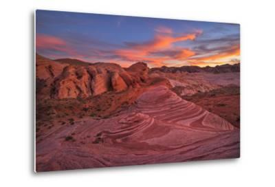 Usa, Southwest,Nevada, Valley of Fire, State Park, Fire Wave