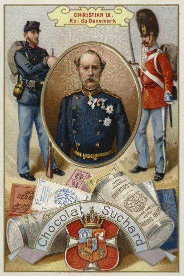 Christian Ix, King of Denmark--Giclee Print