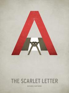 The Scarlet Letter Minimal by Christian Jackson