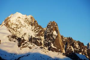 Aiguille Verte, 4122m, and Les Drus, Chamonix, Haute Savoie, Rhone Alpes, French Alps, France, Euro by Christian Kober
