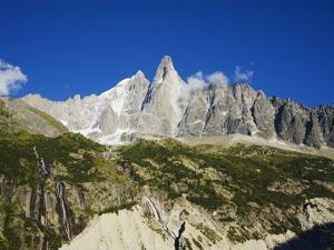 Aiguilles Du Dru, Mont Blanc Range, Chamonix, French Alps, France, Europe by Christian Kober