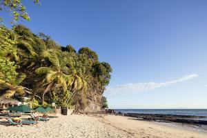 Ambatoloaka beach, Nosy Be Island, northern area, Madagascar, Africa by Christian Kober