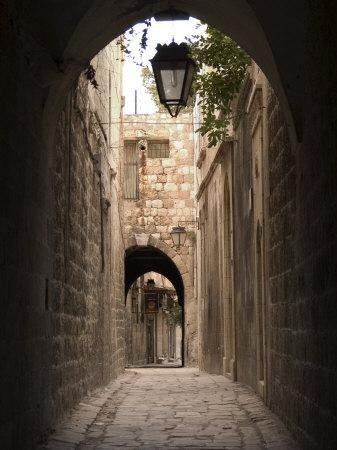 Arched Streets of Old Town Al-Jdeida, Aleppo (Haleb), Syria, Middle East