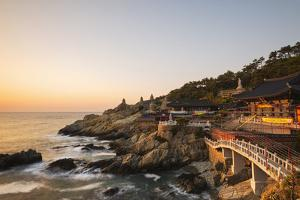 Asia, Republic of Korea, South Korea, Busan, Haedong Yonggungsa Temple by Christian Kober
