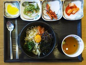 Asia, Republic of Korea, South Korea, Seoul, Bibimpab Restaurant by Christian Kober