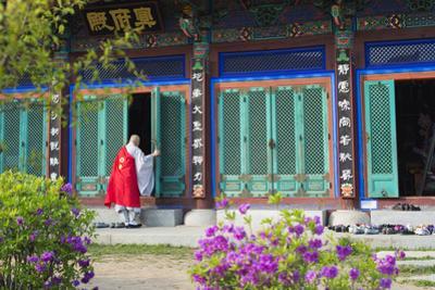 Asia, Republic of Korea, South Korea, Seoul, Buddhist Temple by Christian Kober