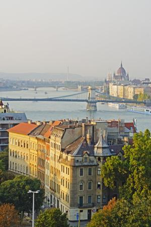 Banks of the Danube, UNESCO World Heritage Site, Budapest, Hungary, Europe by Christian Kober