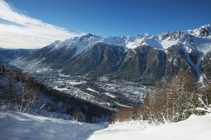 Chamonix, Haute-Savoie, French Alps, France, Europe by Christian Kober
