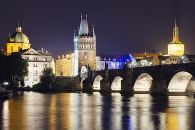 Charles Bridge and Mala Strana Bridge Tower by Christian Kober