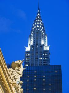 Chrysler Building at Grand Central Station, Manhattan by Christian Kober