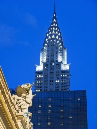 Chrysler Building at Grand Central Station, Manhattan