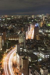 City Skyline, Ikebukuro, Tokyo, Honshu, Japan, Asia by Christian Kober