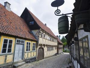 Den Gamle By, the Old Town Open Air Museum, Arhus, Jutland, Denmark, Scandinavia, Europe by Christian Kober