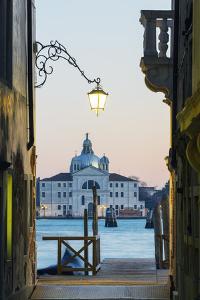 Europe, Italy, Veneto, Venice, San Giorgio Maggiore Church across Basino Di San by Christian Kober