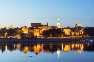 Europe, Poland, Gdansk and Pomerania, Torun, UNESCO Medieval Old Town, Vistula River by Christian Kober