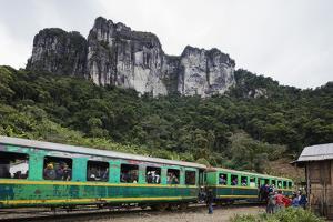 Fianarantsoa to Manakara FCE train, eastern area, Madagascar, Africa by Christian Kober