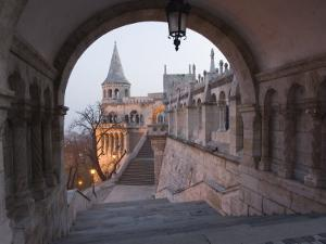 Fishermans Bastion, Castle Hill Area, Budapest, Hungary by Christian Kober