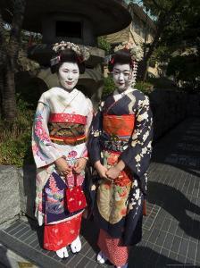 Geisha, Maiko (Trainee Geisha) in Gion, Kyoto City, Honshu, Japan by Christian Kober
