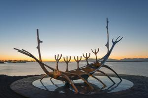 Iceland, Reykjavik, Solfar (Sun Voyager) by Christian Kober
