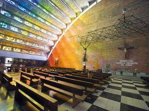Iglesia El Rosario, San Salvador, El Salvador, Central America by Christian Kober