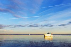 Lake Niegocin, Gizycko, Great Masurian Lakes, Masuria, Poland, Europe by Christian Kober
