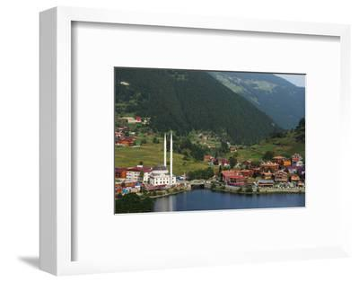 Lakeside Mosque, Uzungol Alpine Resort, Black Sea Coast Area, Trabzon Province, Anatolia, Turkey