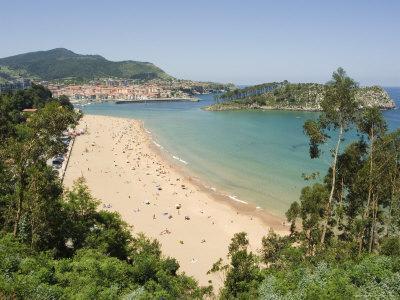 Lekeitio Beach, Euskadi (Basque Country) (Pais Vasco), Spain, Europe