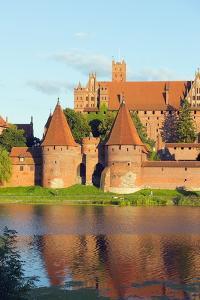 Medieval Malbork Castle by Christian Kober