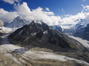 Mer De Glace Glacier, Mont Blanc Range, Chamonix, French Alps, France, Europe by Christian Kober
