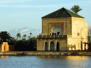 Morocco Marrakesh Menara Garden Pavilion Water Basin by Christian Kober