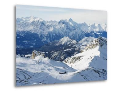Mountain Scenery in Cervinia Ski Resort, Cervinia, Valle D'Aosta, Italian Alps, Italy, Europe