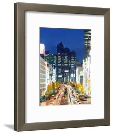 Park Hyatt Hotel and Night Lights in Shinjuku, Tokyo, Japan, Asia