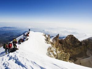 Pico De Orizaba, 5610M, Veracruz State, Mexico, North America by Christian Kober