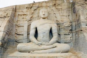 Seated Buddha by Christian Kober