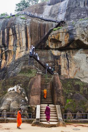 Sigiriya, UNESCO World Heritage Site, North Central Province, Sri Lanka, Asia by Christian Kober