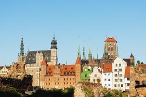 Skyline, Gdansk, Poland, Europe by Christian Kober
