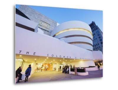 Solomon R. Guggenheim Museum, Built in 1959, Designed by Frank Lloyd Wright, Manhattan