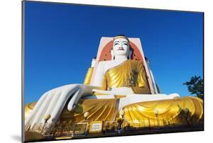 South East Asia, Myanmar, Bago, Kyaik Pun Paya, Gautama Buddha by Christian Kober