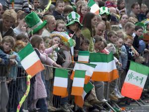 St. Patrick's Day Parade Celebrations, Dublin, Republic of Ireland (Eire) by Christian Kober
