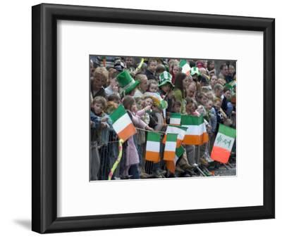 St. Patrick's Day Parade Celebrations, Dublin, Republic of Ireland (Eire)