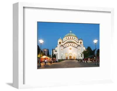 St. Sava Orthodox Church, Built 1935, Belgrade, Serbia, Europe