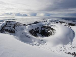 Summit Crater, Volcan Cotopaxi, 5897M, the Highest Active Volcano in the World, Ecuador by Christian Kober