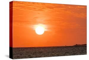 Sunset, Anakao, southern Madagascar, Africa by Christian Kober