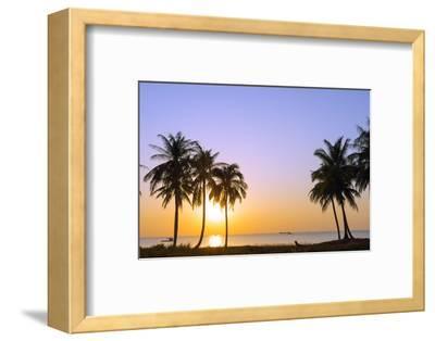 Sunset at Long Beach, Phu Quoc Island, Vietnam, Indochina, Southeast Asia, Asia