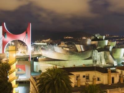 The Guggenheim, Designed by Canadian-American Architect Frank Gehry, Built by Ferrovial by Christian Kober