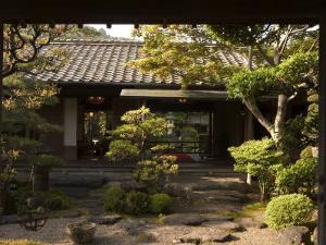 Traditional Japanese Garden, Tado Town, Mie Prefecture, Kansai, Honshu Island, Japan by Christian Kober