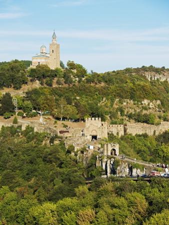 Tsarevets Fortress, Veliko Tarnovo, Bulgaria, Europe by Christian Kober