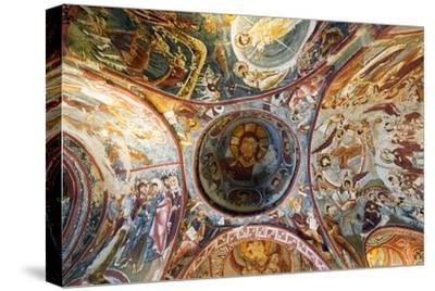 Turkey, Central Anatolia, Cappadocia, Goreme, Open Air Museum, UNESCO World Heritage Site