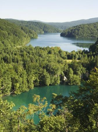 Turquoise Lakes, Plitvice Lakes National Park, Unesco World Heritage Site, Croatia by Christian Kober