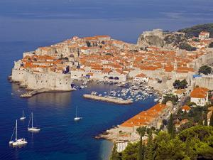 Unesco World Heritage Old Town Harbour, Dubrovnik, Croatia by Christian Kober